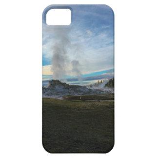 Géiser de piedra amarillo funda para iPhone SE/5/5s