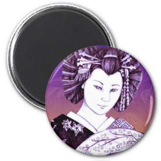 Geisha Abanico de Imán