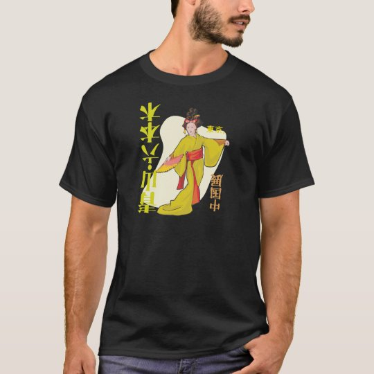 Geisha japonés camiseta