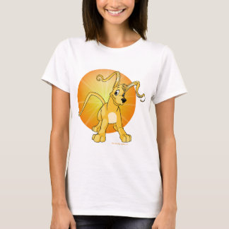 Gelert amarillo juguetón camiseta