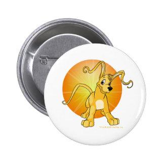 Gelert amarillo juguetón chapa redonda 5 cm