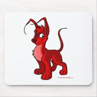 Gelert rojo orgulloso alfombrilla de ratón