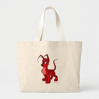 Gelert rojo orgulloso bolsa tela grande