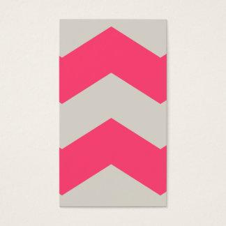 Gema rosada tarjeta de negocios