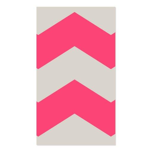 Gema rosada tarjetas personales
