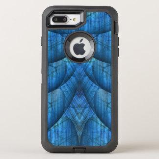 Gemas de la labradorita azules funda OtterBox defender para iPhone 8 plus/7 plus