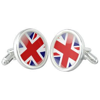 Gemelos Bandera brillante británica