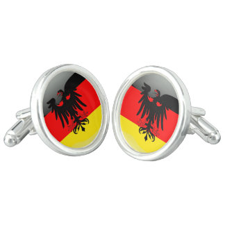Gemelos Bandera brillante de Alemania