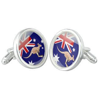 Gemelos Bandera brillante de Australia
