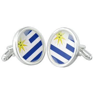 Gemelos Bandera brillante uruguaya