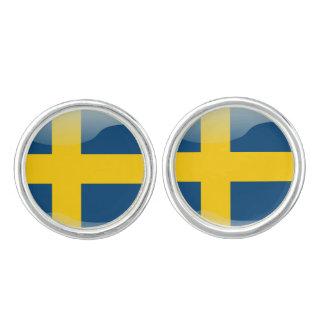 Gemelos Bandera sueca