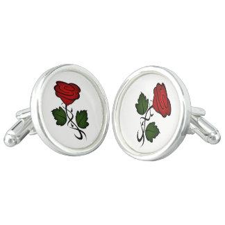 Gemelos Beso kash002 del rosa rojo