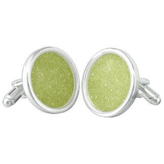 Gemelos Chispas del brillo de la verde lima
