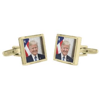 Gemelos Dorados Presidente Donald Trump
