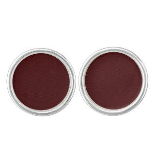 Gemelos Edición marrón de las mancuernas 60s de los