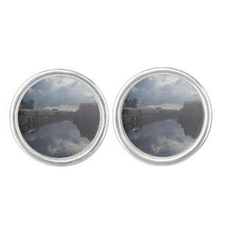 Gemelos Mancuernas del Riverbank de Dublín