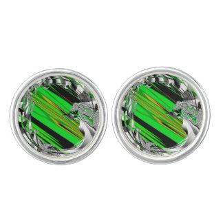 Gemelos Raya verde del caramelo