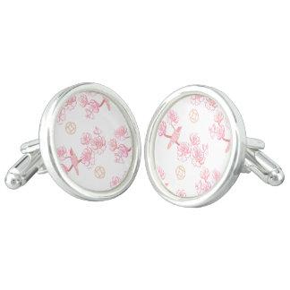 Gemelos Sakura, flor de la primavera, flor de cerezo