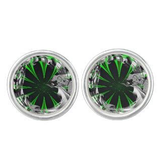 Gemelos Selva verde abstracta del fractal