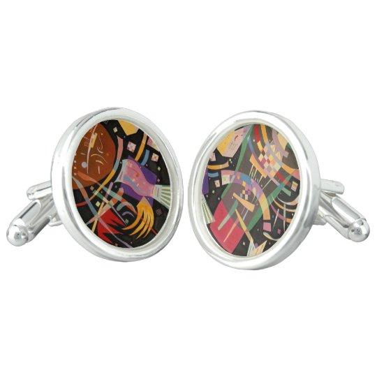 Gemelos Vínculos de puño de Kandinsky