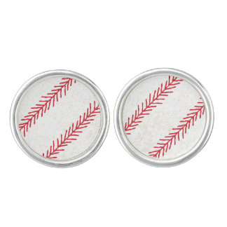 Gemelos Vínculos de puño de la puntada del béisbol