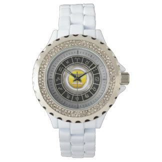Géminis - el símbolo del horóscopo de los gemelos relojes de pulsera