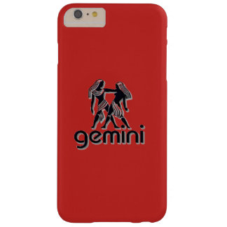 Géminis rojos, iPhone 6/6s más, caja del teléfono Funda Barely There iPhone 6 Plus