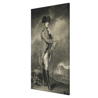 General Cornwallis 1738-1805 grabado por Juan Jo Impresion De Lienzo