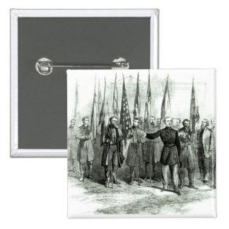 General Custer Chapa Cuadrada 5 Cm