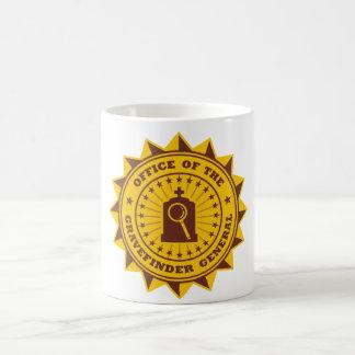 General de Gravefinder Taza De Café