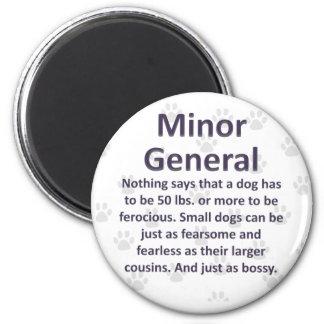 General de menor importancia imán redondo 5 cm
