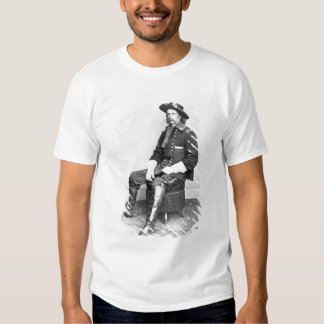 General George A. Custer (foto de b/w) Camiseta