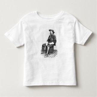 General George A. Custer (foto de b/w) Camiseta De Niño