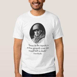 General Omar Bradley y cita Camiseta