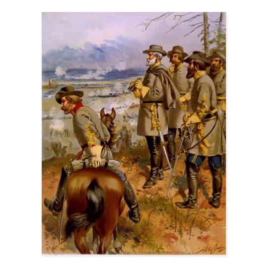 General Roberto E. Lee en Fredericksburg por un Postal