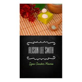 Generic health/spa/massage tarjetas personales