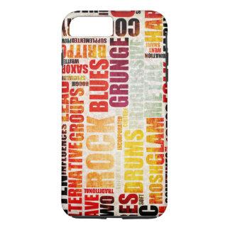 Géneros y tipos de la música popular en Grunge Funda iPhone 7 Plus
