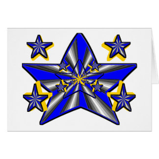 Génesis de la estrella (concepto artístico estupen tarjetas