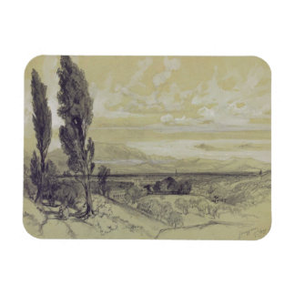 Genezzano, el 17 de mayo de 1838 (grafito en el pa imán de vinilo
