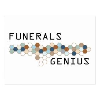 Genio de los entierros postales