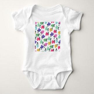 gente autística body para bebé