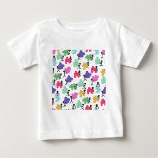 gente autística camiseta de bebé
