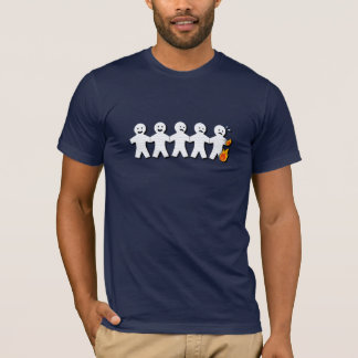 ¡Gente de papel en el FUEGO!!! Camiseta