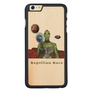 Gente de Reptillian Funda Para iPhone 6 De Carved® De Arce