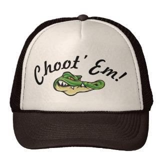 ¡Gente del pantano - Choot ellos! ¡Gorra! Gorro De Camionero