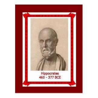 Gente famosa, Hipócrates, Postal