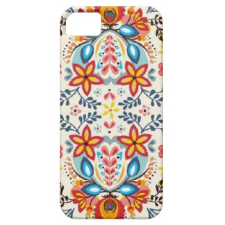 Gente floral funda para iPhone SE/5/5s