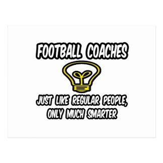 Gente regular de los entrenadores de fútbol…, postal