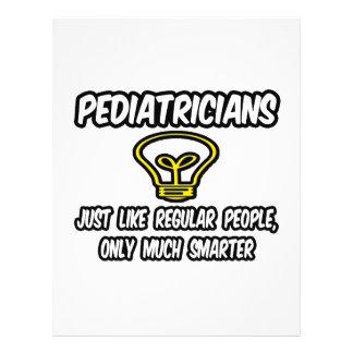 Gente regular de los pediatras…, solamente más ele tarjetas informativas