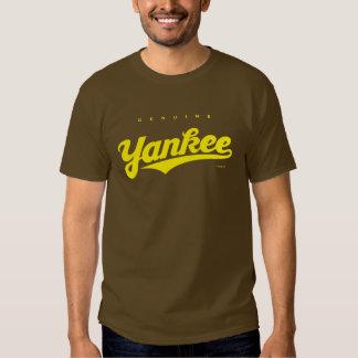 GenuineTee - yanqui (amarillo) Camisas